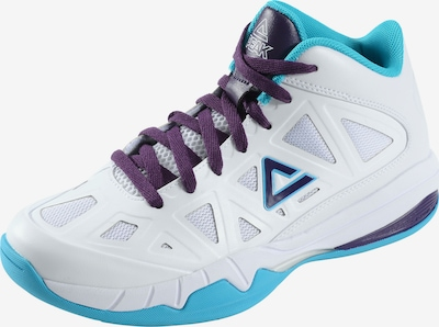 PEAK Basketballschuhe 'Blue Carolina' in blau / weiß, Produktansicht