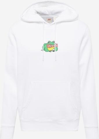 LEVI'S Sweatshirt in Weiß