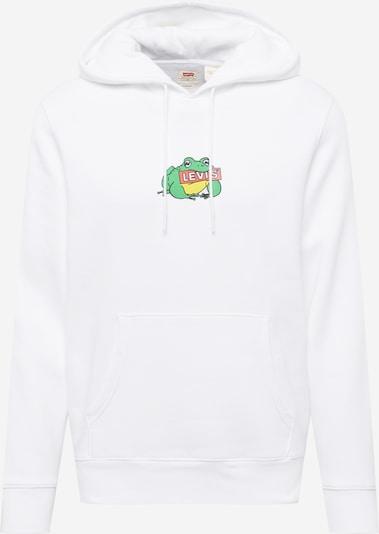 LEVI'S Mikina - zmiešané farby / biela, Produkt