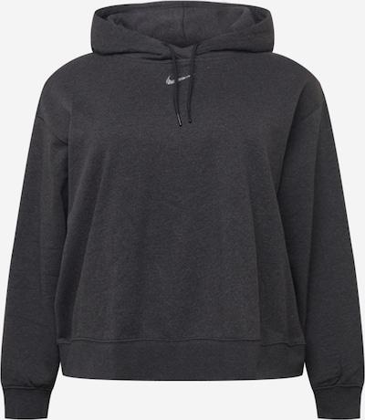 Nike Sportswear Sweatshirt in schwarzmeliert / silber, Produktansicht