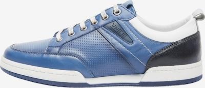 Van Lier Chaussure de sport à lacets en bleu / noir / blanc, Vue avec produit