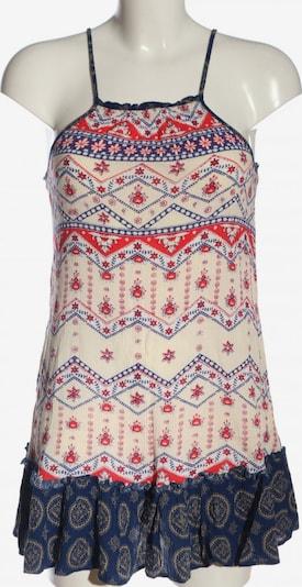 MINKPINK A-Linien Kleid in S in blau / rot / wollweiß, Produktansicht