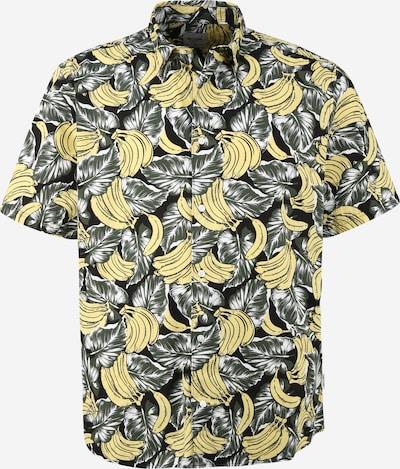 Cămașă 'KASPAR' Only & Sons Big & Tall pe galben / negru / alb, Vizualizare produs