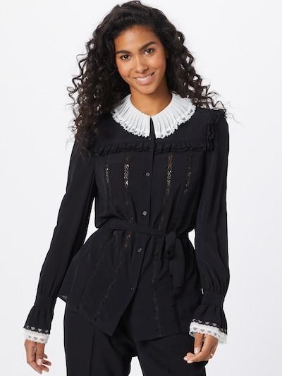 PINKO Blouse 'CAMICIA' in Black / White, View model