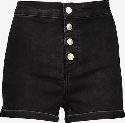 Tally Weijl Shorts in black denim, Produktansicht