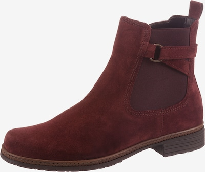 GABOR Chelsea Boots in dunkelrot, Produktansicht