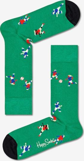 Happy Socks Socken in grün / mischfarben, Produktansicht