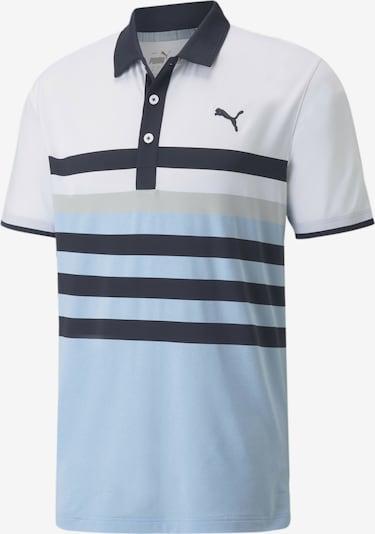 PUMA Shirt in dunkelblau / grau, Produktansicht
