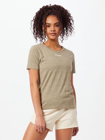 Hummel Sporta krekls 'Zandra', krāsa - zaļš: Priekšējais skats