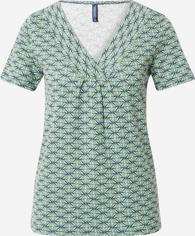 Maglietta Tranquillo di colore blu / giallo / petrolio / bianco, Visualizzazione prodotti