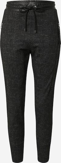 MAC Pantalon 'FUTURE' en gris / noir, Vue avec produit