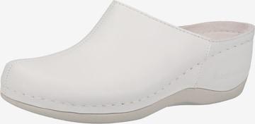 BERKEMANN Pantoletten in Weiß