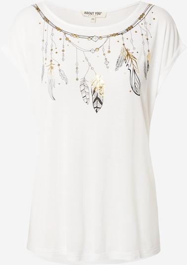 ABOUT YOU T-shirt 'Luzia' en blanc, Vue avec produit