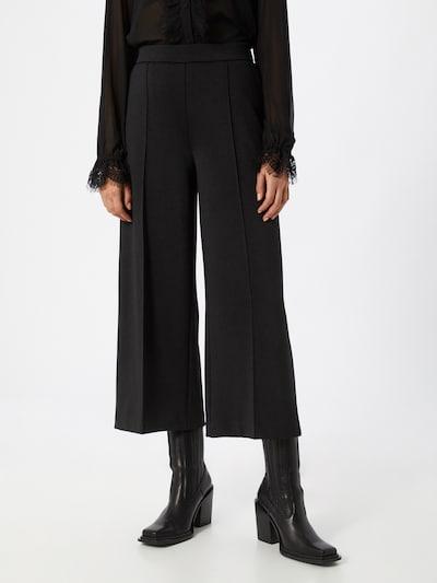 OPUS Pantalon 'Maarja' en noir, Vue avec modèle