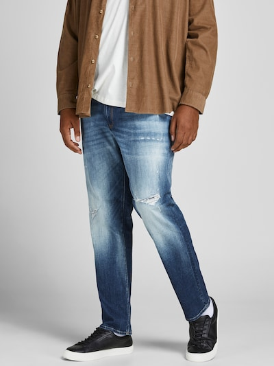 JACK & JONES Jeans 'Glenn' in blue denim, Modelansicht