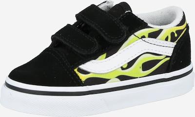 VANS Zapatillas deportivas 'Old Skool' en lima / amarillo neón / negro / blanco, Vista del producto