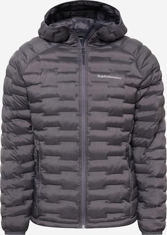 PEAK PERFORMANCE Sports jacket 'Argon Light' in Grey