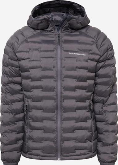 PEAK PERFORMANCE Athletic Jacket 'Argon Light' in Graphite, Item view