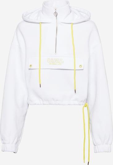 Tally Weijl Sweatshirt i gul / offwhite, Produktvisning
