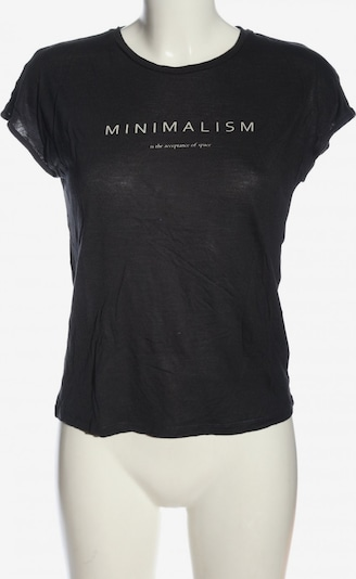 re.draft T-Shirt in XS in schwarz, Produktansicht