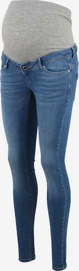 Only Maternity Jeans 'Paola' in blau / grau: Frontalansicht