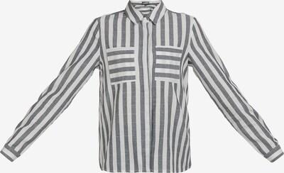 DreiMaster Vintage Blouse in dark grey / white, Item view