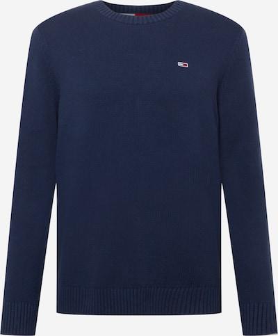 Pulover Tommy Jeans pe bleumarin, Vizualizare produs