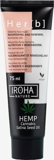 Iroha Maske 'Hemp Cannabis Sativa Seed Oil Nourishing and Renewal Sleeping ' in weiß, Produktansicht