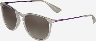 Ray-Ban Sunglasses 'Erika' in Purple / Transparent, Item view