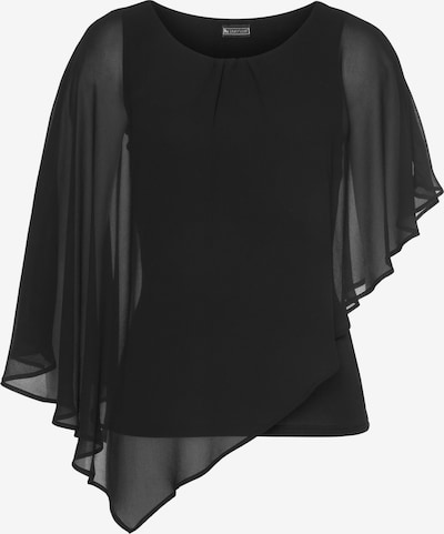 LAURA SCOTT Chiffonbluse in schwarz, Produktansicht