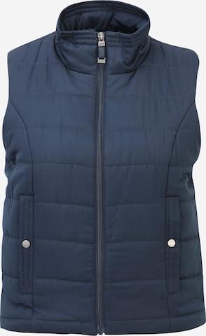 Vero Moda Petite Vest 'SIMONE' in Blue