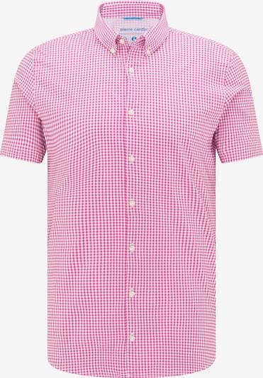 PIERRE CARDIN Overhemd 'Clima Control' in de kleur Rood / Wit, Productweergave