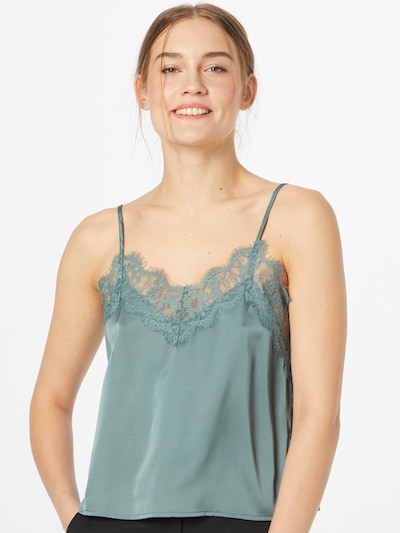 Guido Maria Kretschmer Collection Top 'Lynn' in Green: Frontal view