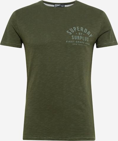 Superdry T-Shirt in oliv / grasgrün: Frontalansicht