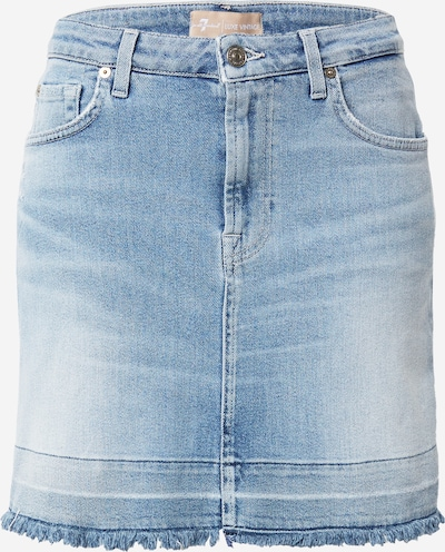 7 for all mankind Rok in de kleur Lichtblauw, Productweergave