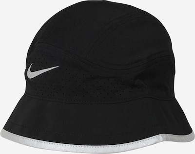 NIKE Sports hat in Black / Silver, Item view
