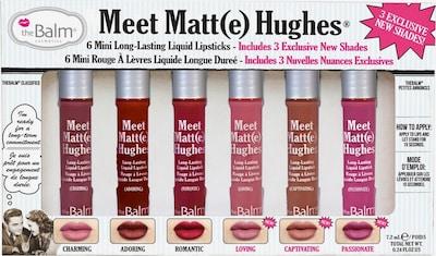 The Balm Lippenstift 'MeetMatteHughes Vol.3' in, Produktansicht