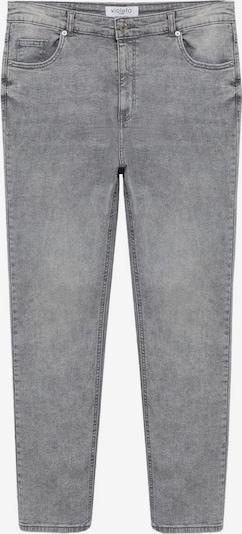 VIOLETA by Mango Jeans in de kleur Lichtgrijs, Productweergave