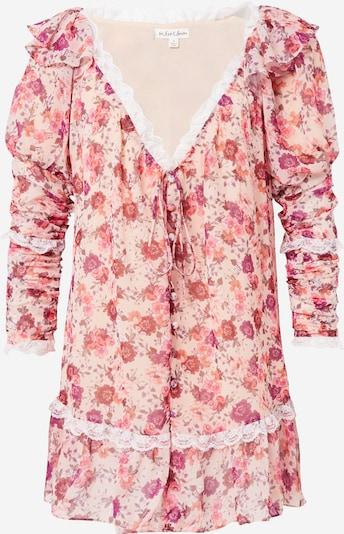 For Love & Lemons Robe 'Evie' en rose / rose, Vue avec produit