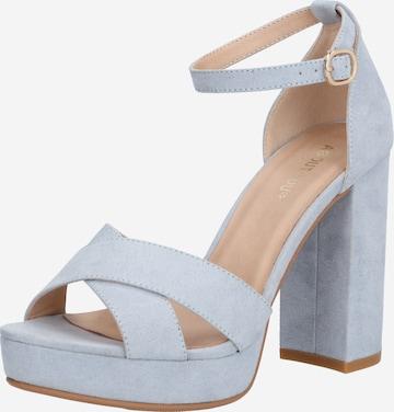 ABOUT YOU Официални дамски обувки 'Carina' в синьо