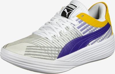 PUMA Sportschuh in senf / grau / dunkellila / weiß, Produktansicht