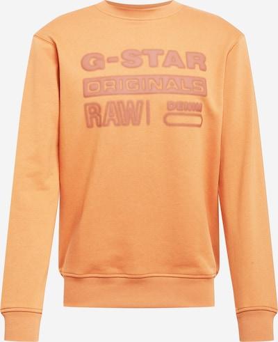 G-Star RAW Mikina - mandarinkoná / pastelově červená, Produkt