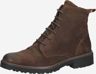 IGI&CO Lace-Up Ankle Boots in Brown, Item view