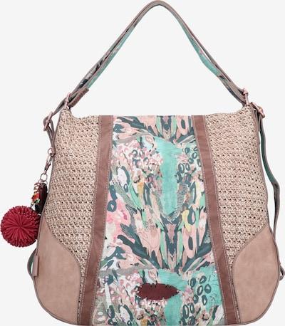 Anekke Sac bandoulière 'Jungle ' en mélange de couleurs / rose, Vue avec produit