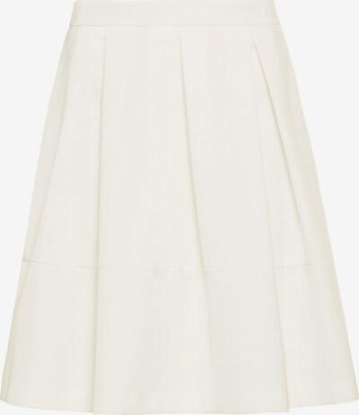 HALLHUBER Taillenrock aus Satin in weiß, Produktansicht