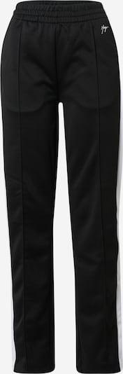 Pantaloni 'Nanini' HUGO pe negru / alb, Vizualizare produs