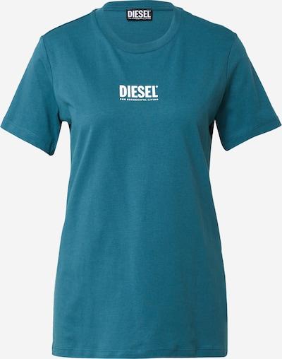 DIESEL Shirt in dunkelblau / weiß, Produktansicht