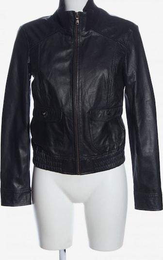 ESPRIT Lederjacke in S in schwarz, Produktansicht