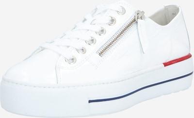 Paul Green Trampki niskie w kolorze niebieski / jasnoczerwony / białym, Podgląd produktu