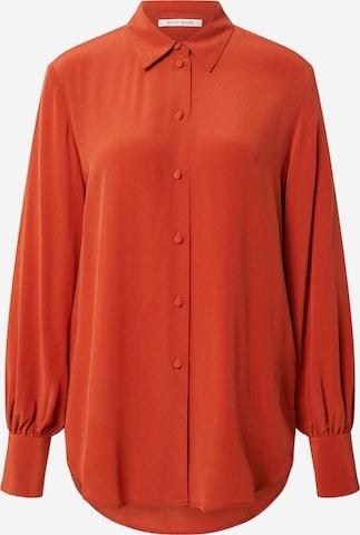 WOOD WOOD Bluse 'Magda' in Orange